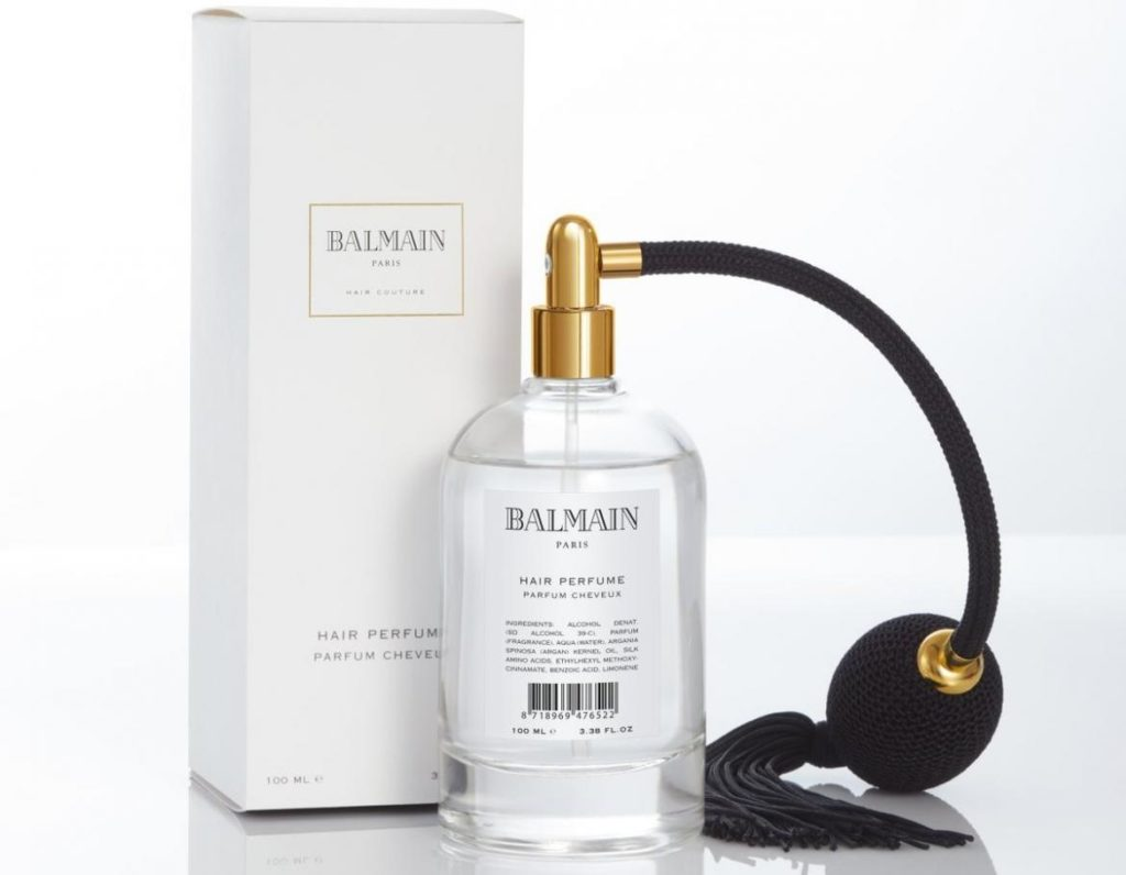 Balmain luxury hair products